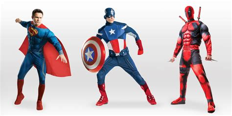 superhero costumes  men   halloween