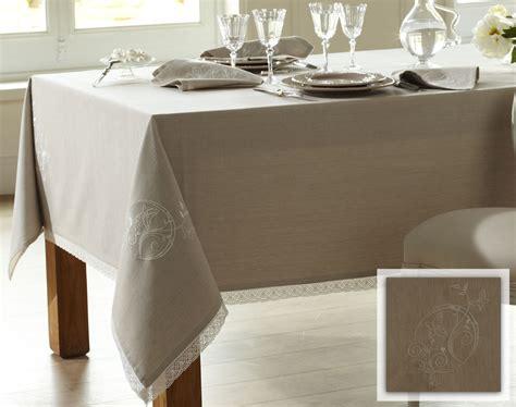 maison du monde nappe linge de table brod 233 papillons coton chambray becquet
