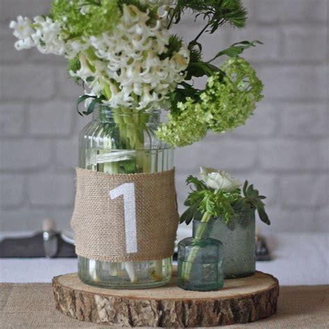 hessian wedding table numbers set of 12 jason laura s