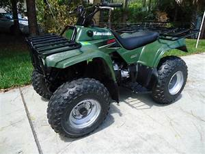 2003 Kawasaki Bayou 220cc Atv Four Wheeler Great Condition