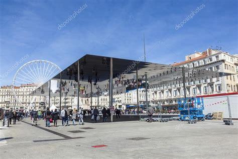 Pavillon Am Alten Hafen Marseille by Norman Foster S Pavilion In Marseille Stock