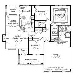 single level home plans one level house plan