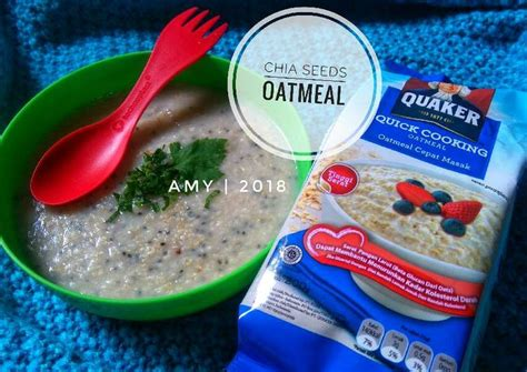 Quaker oat biru (oatmeal cook). Resep Masak Oatmeal Quaker - Masak Memasak