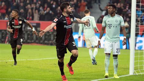 bayer leverkusen  bayern munich football match report