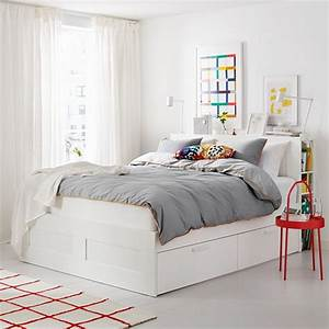 Brimnes Ikea Bett : brimnes bed frame with storage headboard queen ~ A.2002-acura-tl-radio.info Haus und Dekorationen