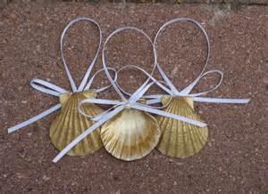 seashell ornaments christmas ornaments gold sea by justshellin