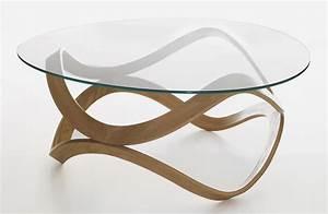 Beistelltisch Rund Glas : couchtisch eiche glas rund neuesten design ~ Lateststills.com Haus und Dekorationen