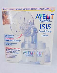 Philips Avent Isis Manual Breast Pump  Discontinued By Manufacturer