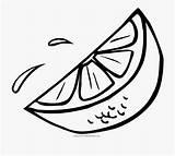 Slice Lemon Orange Clipart Coloring Svg Drawing Wedge Naranja Colorear Lemons Clip Ultra Lime Dibujo Rodaja Half Library Cartoon Sour sketch template