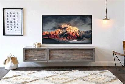 Lakewood Console Woodwaves Geo Floating Eco Stand