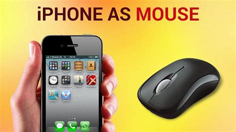 how to use an iphone how to use iphone as mouse