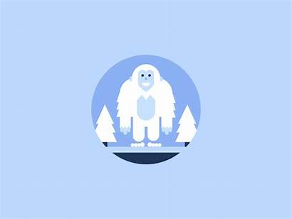 Dribbble Animated Badges Fun Icons Week Icon