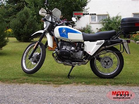 Bmw R 65 Gs 1988 Specs And Photos