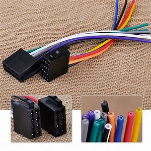 Female Universal Iso Wire Harness Adapter Connector Cable