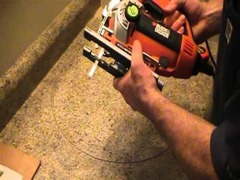 cut   countertop   basin ot sink plumbing
