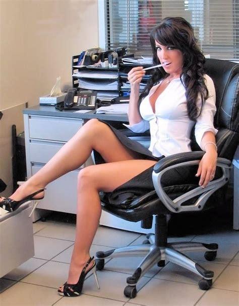 Sexy Secretary Hot Naked Brunette Porn Pornstar Adult