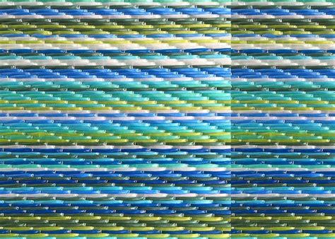tapis de jardin d 233 grad 233 de bleu dye weaver chez ksl living