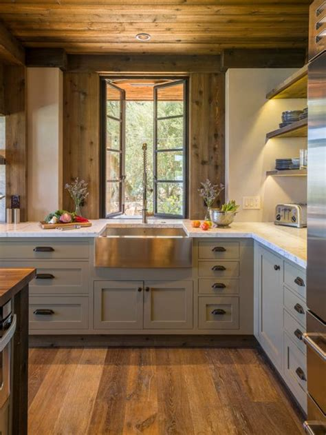 rustic grey kitchen cabinets rustic kitchen design ideas remodel pictures houzz