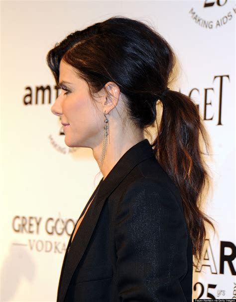 The Best Celebrity Ponytails Of All Time Photos