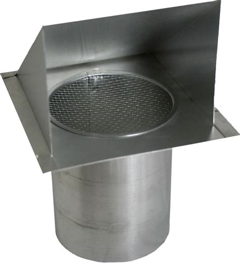 roof mounted dryer vent cap heavy duty metal vents in copper stainless and galvanized