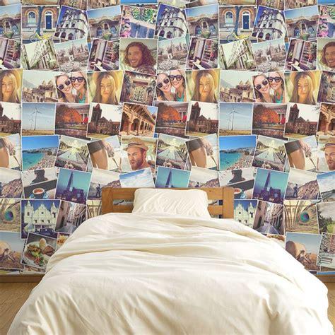 Foto Auf Tapete fototapete selbst gestalten fotocollagen auf tapete