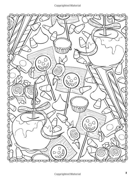 Coloring Page by Halloweenscapes Dover Coloring Books Coloring Dover
