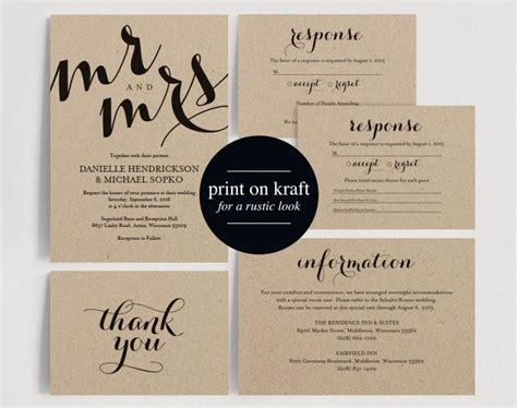 editable wedding invitation editable wedding invitation matik for