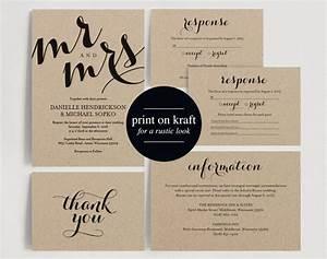 wedding invitation printable template wedding invitation With diy wedding invitations printing templates