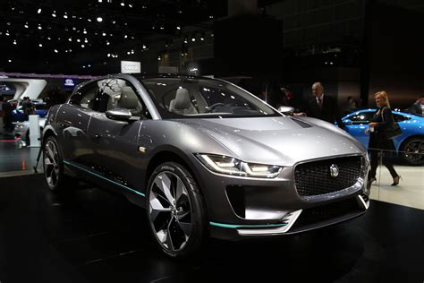 Jaguar I Pace Debuts As An All Electric Crossover Concept