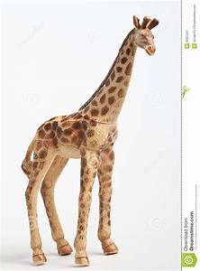 Plastic Toy Giraffe Stock Image - Image: 8497241