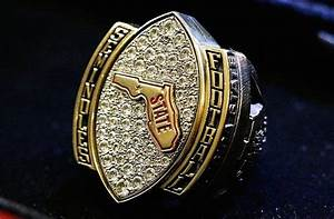 Florida State football players receive championship rings ...