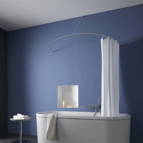 curtain curtain rods for corner how to place a shower curtain rods the homy design