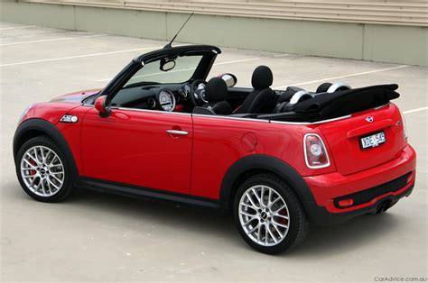 mini john cooper works cabrio review road test