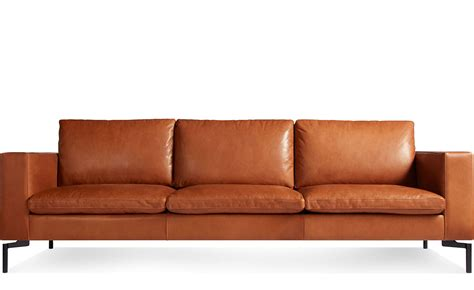 Where To Buy Leather Sofa by New Standard 92 Quot Leather Sofa Hivemodern