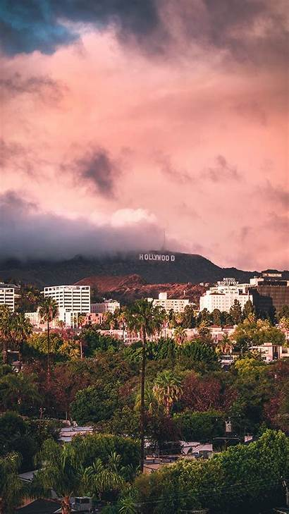 Angeles Los Iphone California Hollywood Wallpapers Aesthetic