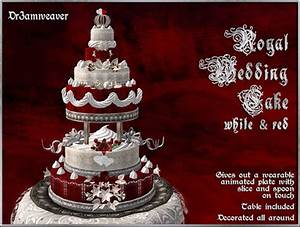 Second Life Marketplace - Dr3amweaver - Royal Wedding Cake ...