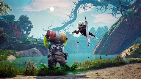 wallpaper biomutant screenshot  games