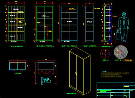 Cabinet Autocad Blocks by Metal Cabinet Dwg Section For Autocad Designs Cad