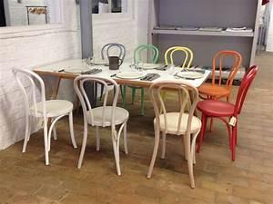 Table Et Chaise Bistrot : ma chaise bistrot thonet 18 landmade en bois fashion maman ~ Teatrodelosmanantiales.com Idées de Décoration
