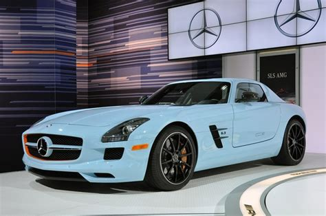 Mercedes Launches Ultraluxury Sport Sls In Gulf Racing Colors