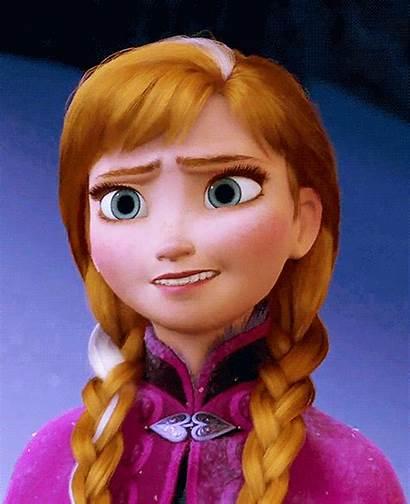 Anna Frozen Hair Princess She Disney There