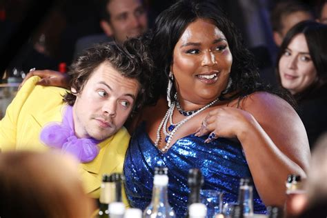 lizzo harry brit awards fanfiction irresistible touch yo she appearance gemma hearts standard goes award obviously skit london