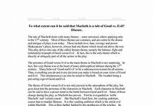 Good Vs Evil Essay Name Essays Examples Good Vs Evil Essay Hookworm  Good Vs Evil Essay Macbeth  Do My Turabian For Me also Custom Written Advantages  Essay Thesis Statement Generator