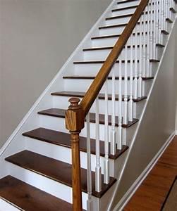 comment peindre rapidement un escalier en bois bricobistro With superb peindre des marches d escalier en bois 1 deco escalier ancien