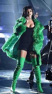Miley Cyrus Rihanna and Lady Gagau0026#39;s naughtiest stage costumes revealed | Daily Mail Online