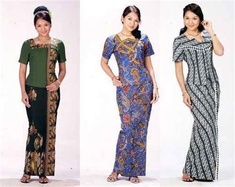 model baju batik wanita terbaru sebagai tren