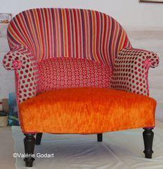 fauteuil crapaud r 233 alis 233 en patchwork tapissier en