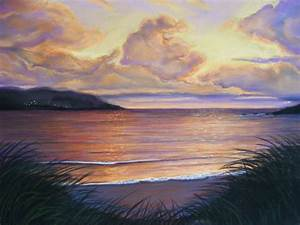 Deborah O'Keeffe Paintings of Ireland: Soft pastels by Deborah