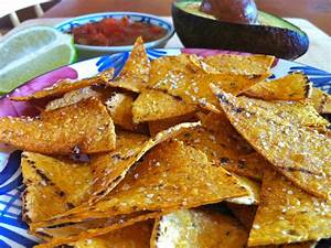 Salted Lime Baked Corn Tortillas Chips – The Fountain ...