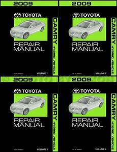 2009 Toyota Camry Hybrid Wiring Diagram Manual Original